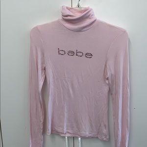 BEBE long sleeve turtle neck